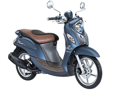 Lu Led Motor Mio Fino yamaha fino grande 2017 led warna blue matte dengan fitur