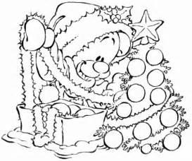 new year tree coloring page desenhos pimboli no natal colorir e pintar qdb