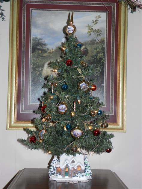 fabulously creative my thomas kinkade christmas tree