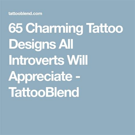 introvert tattoo best 25 introvert ideas on small