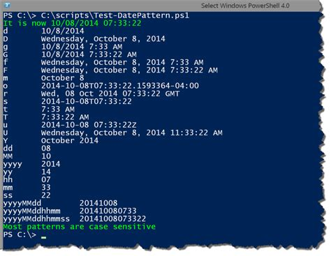 Format Date Variable Powershell | powershell dates times and formats