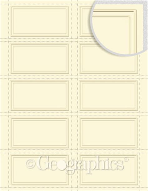 iclicknprint business card template duet embossed ivory business cards 150 pk
