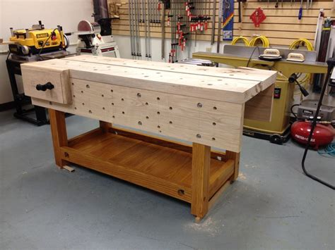 nicholson bench  woodworkers musings workbenches