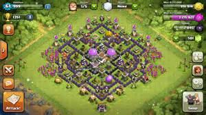 Coc best th8 farming base