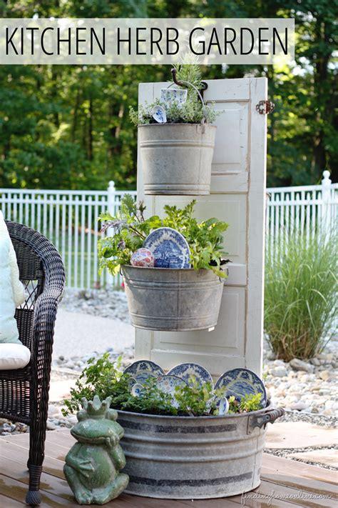 Kitchen Bench Herb Garden 10 Small Space Garden Ideas And Inspiration The