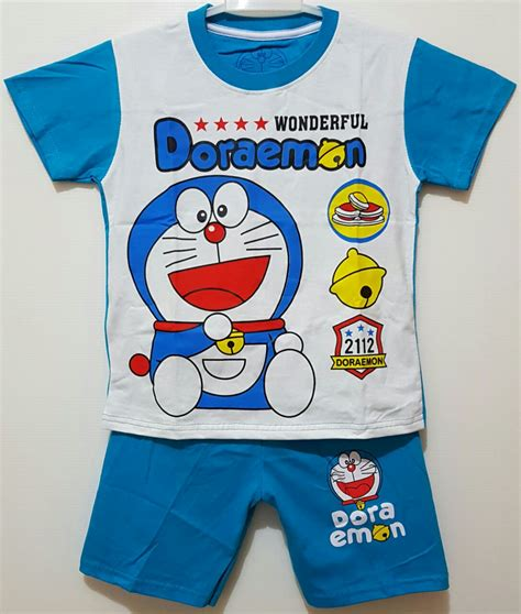 Setelan Doraemon Biru by Setelan Doraemon Wonderful Biru 1 6 Disney Grosir