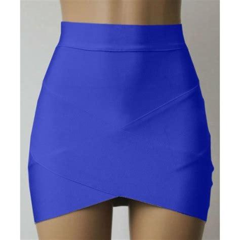 slim fit trendy style bandage skirt for black