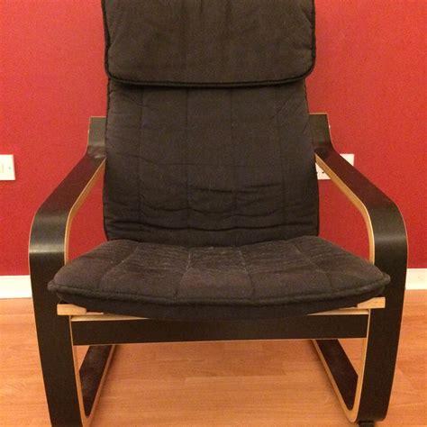 Poang Ottoman Poang Ikea Armchair With Matching Ottoman
