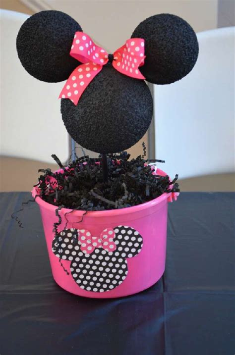 Minnie Mouse Birthday Decoration by Mickey Mouse Clubhouse Or Minnie Mouse Birthday