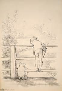 sketchbook sale original sketch of winnie the pooh set to sell for more