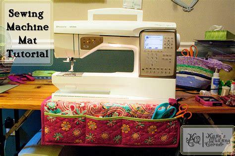 free pattern friday sewing machine mat
