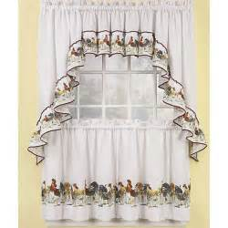 Kitchen Curtains At Jcpenney by Pics Photos Rooster Kitchen Decor Rooster Curtains
