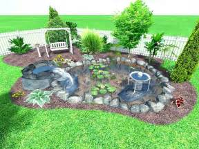 Backyard Landscape Ideas by Small Backyard Landscaping Ideas Home Amp Home