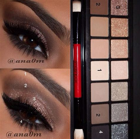 eyeshadow tutorial smashbox smashbox full exposure palette look naked palettes