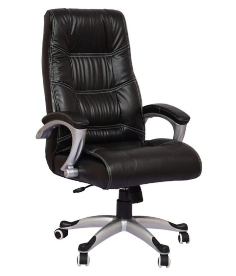 order office chair regal high back office chair in black leatherette buy
