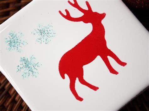 Handmade Reindeer - handmade reindeer coasters hgtv