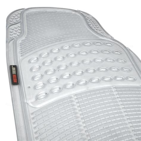 Custom Rubber Car Floor Mats by Motor Trend Zero Odor All Weather Car Rubber Floor Mats