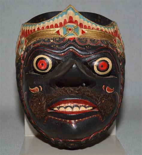 Topeng Mask Rinegantobi 3 Eye topeng wooden mask gatotkatca cirebon coast of java indonesia catawiki