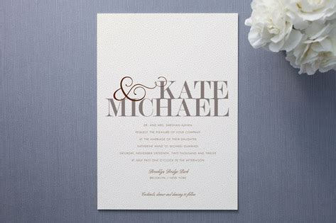 wonderful modern wedding invites theruntime