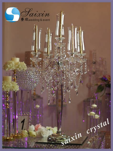 Chandelier Decorations For Wedding 2017 New Decoration Table Top Chandelier Centerpieces For Weddings Buy Centerpieces