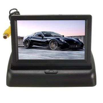 4.3inch lcd car rearview monitor screen reverse camera kit