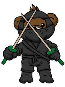 ninja teddies 10 00 clipart for embroidery assorted high quality clipart for your next project