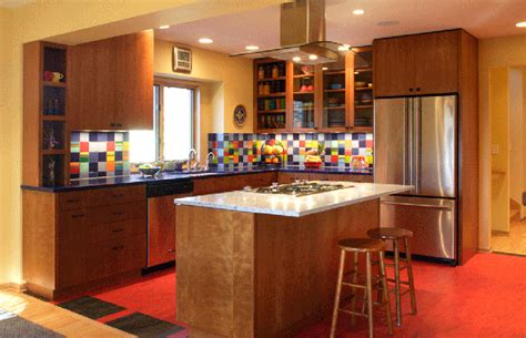 colorful kitchen photo gallery
