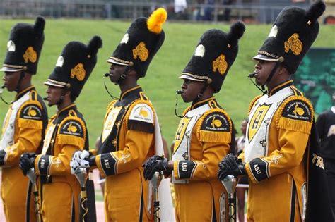 state majors black college drum majors alabama state hornets vs