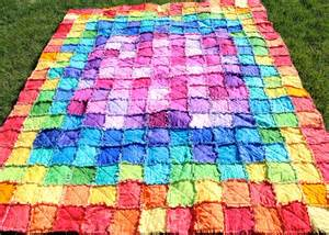 Rag quilt pattern my first quilting experience education of a sahm