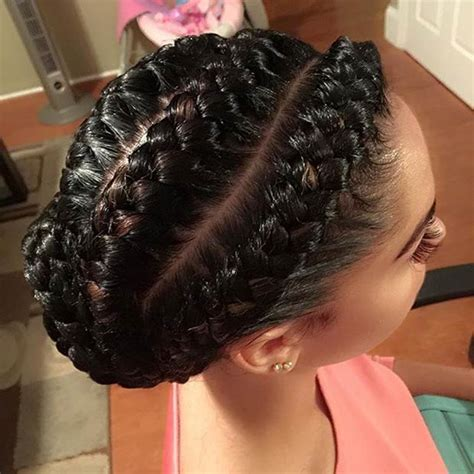 Braid Hairstyles For by 31 Goddess Braids Hairstyles For Black Stayglam
