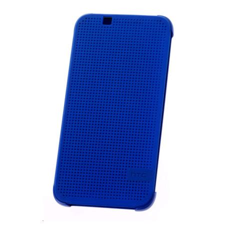 official htc desire 510 dot view case imperial blue