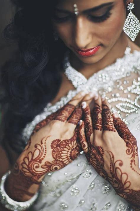 henna tattoo indian bride indian wearing bridal lehenga and jewelry