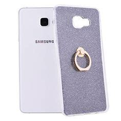 Soft Silikon Pelindung Samsung A5 2017 Ring Stand animal phone for samsung galaxy a5 a3 2017 3d mustache cat silicone coque cover for