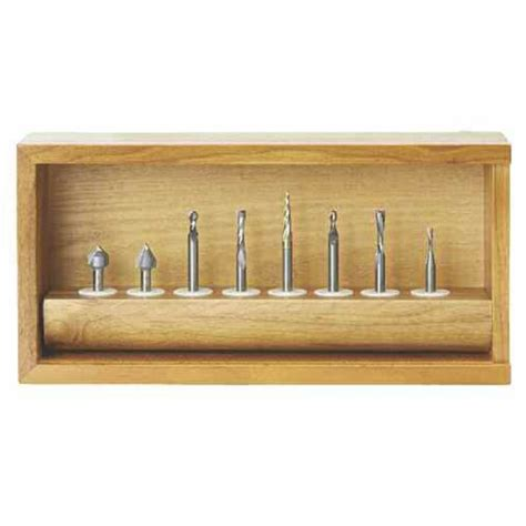 amana woodworking amana 8 cnc general purpose router bit set ams 134