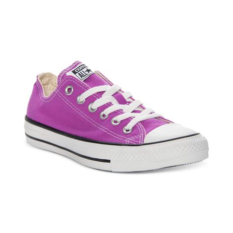 purple converse shoes for converse low top sneakers in purple purple cactus flower