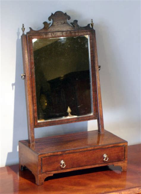 Small Desk Mirror Antique Dresser With Mirror