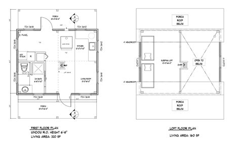 cabin layout plans 16 x 24 floor plan plans by davis frame weekend