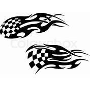 Racing Tattoos  Stock Vector Colourbox