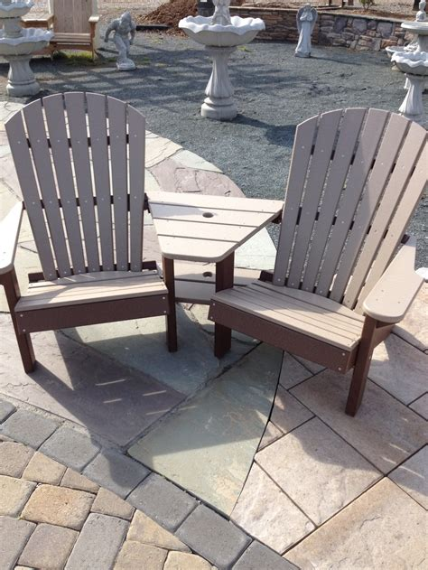 adirondack settee outdoor furniture made from recycled plastics fine edge