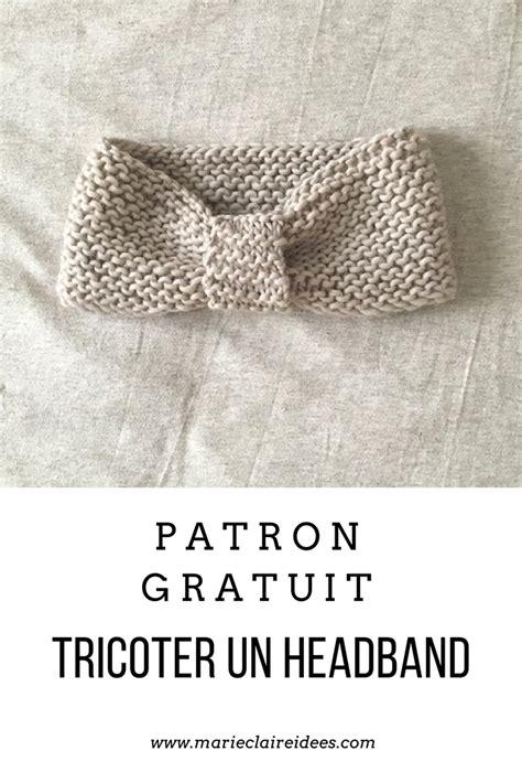 Modele Headband Tricot Gratuit