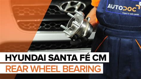 how to replace rear wheel bearing in a 1997 chrysler lhs how to replace a rear wheel bearing on hyundai santa f 201 cm
