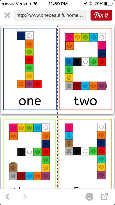 number pattern cards 1573 best images about math on pinterest