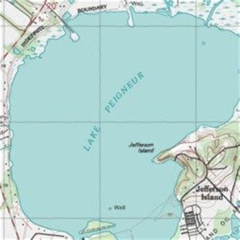 louisiana map before and after lake peigneur louisiana delcambre usgs topographic map
