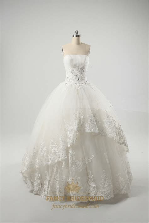 ivory ball gown wedding dresses vintage inspired lace