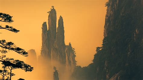 huangshan mountains wallpapers hd wallpapers id