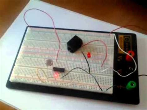 electronics project a simple laser alarm