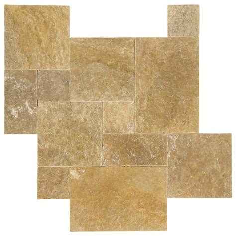 french pattern gold travertine tile gold tumbled french pattern travertine tiles stone tile us