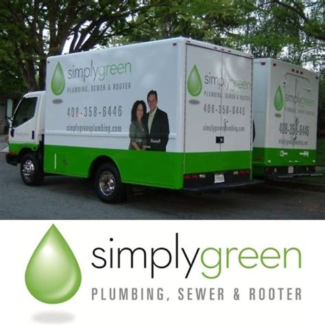 Simply Green Plumbing pin by imp advertising on trusted bay area businesses