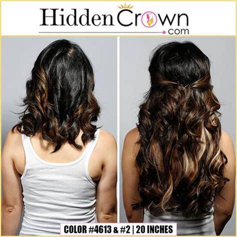 crown highlights dark hair crown hair dark hair and 2 in on pinterest