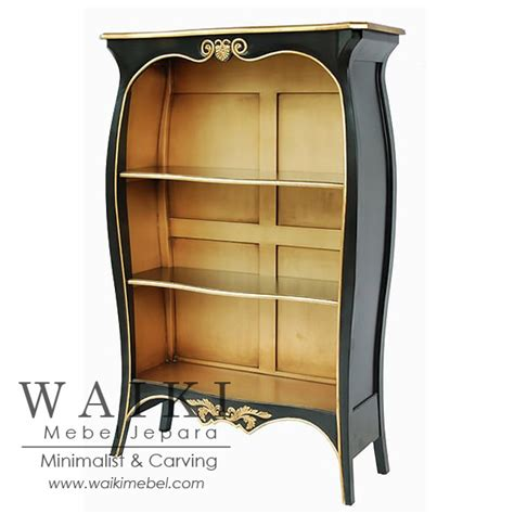 Jual Rak Buku Vintage lemari rak shabby chic vintage furniture jepara